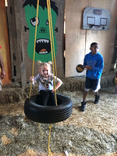 Layla tire swing